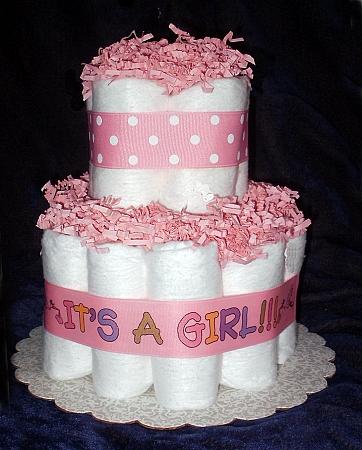 Mini Diaper Cakes Baby Diaper Cakes Mini Baby Girl Diapers Cake