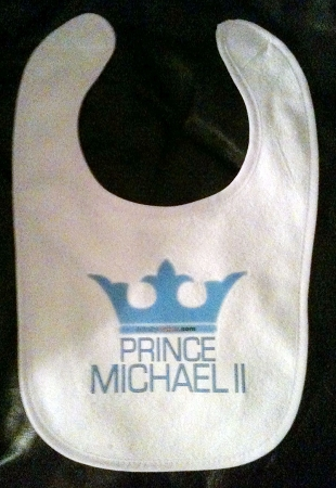 Custom baby bibs personalized baby bibs cute baby bibs custom prince stinky cakes bibs personalized fun baby gifts negle Images