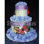 Butterfly Stinky Cakes | Fun Baby Gifts