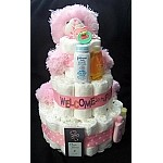 Delightful Diva Stinky Cakes | Personalized Girl Fun Baby Gifts