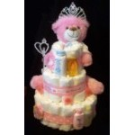 Princess Stinky Cakes | Personalized Princess Fun Baby Gifts